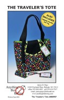 TRAVELERS TOTE Pattern, www.anythingbutboring.com