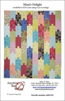 Mini's Delight quilt pattern, anythingbutboring.com
