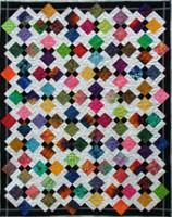 Jewel Box quilt - alternate colorway