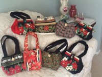 Karen's Christmas Purses