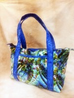 "The Business Bag made with ""Natural Wonders"" from StudioE Fabrics"
