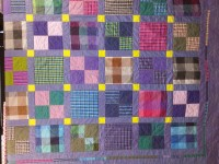 Peppered cotton quilt